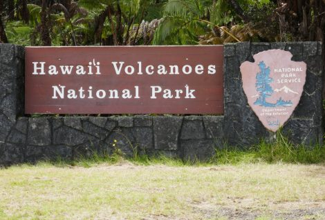 Hawaii Volcanoes National Park, USA, one of the most popular travel destinations on Big Island